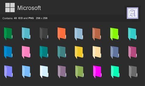 Folders Flat colors by dtafalonso on DeviantArt