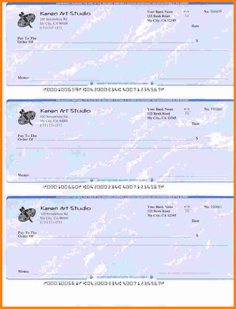 personal check template word 2003 10 blank check templates for microsoft word ledger paper