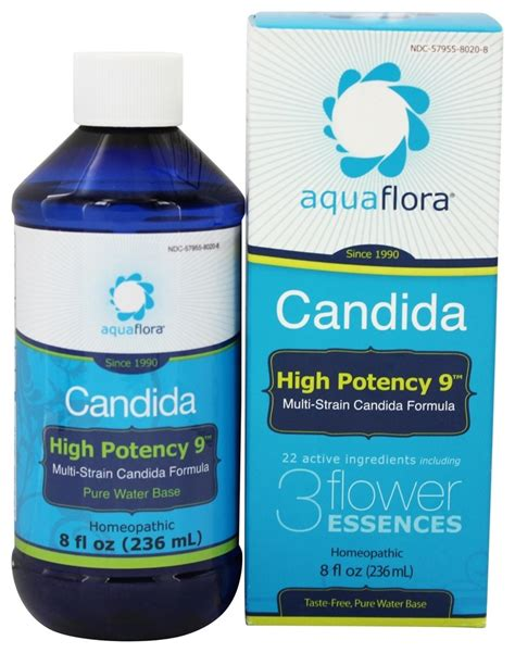 Buy Azmira Yeast And Fungal Detox 8 Ounces by Buy Aquaflora Candida High Potency 9 8 Oz At