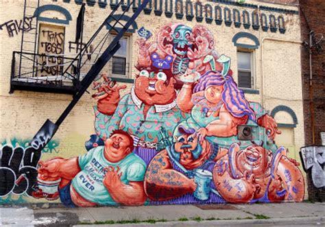 detroit graffiti art  weird crew visits detroit