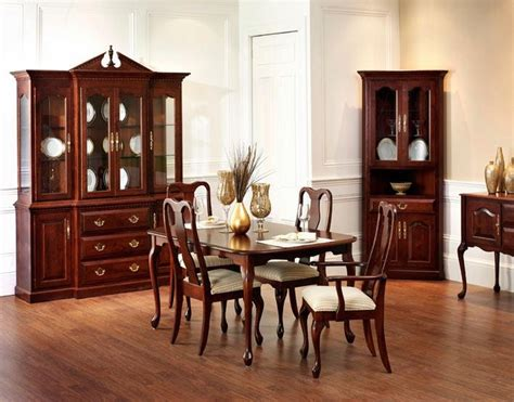 queen anne dining room set click to enlarge