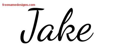 tattoo name jake lively script name tattoo designs jake free download