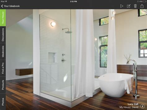 bathrooms trends fewer tubs more walls around