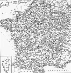 France Train Map by 1920s France Rail Network European Union Maps European