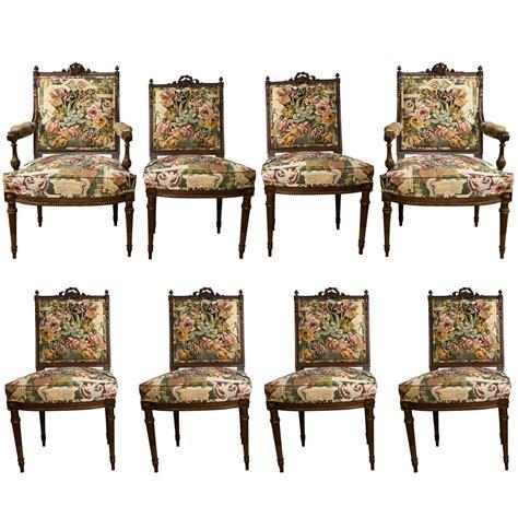 Louis Xvi Style Dining Chairs Set Of 8 Louis Xvi Style Dining Chairs At 1stdibs