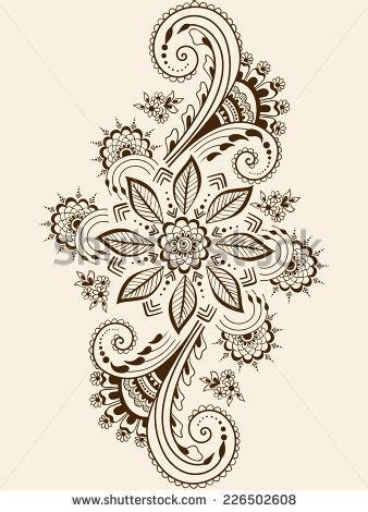 henna tattoo comprar 21 best indian floral tattoos images on henna