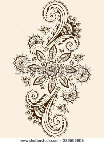 henna tattoo comprar 21 best indian floral tattoos images on henna