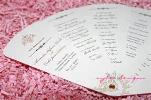free wedding templates diy wedding programs