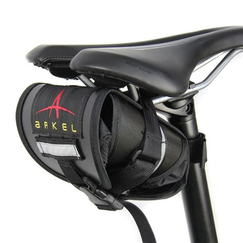 bicycle waterproofs waterproof seat bag bike saddle bags by arkel