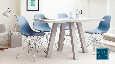 4 seater dining table modern grey gloss cross 4 seater dining table uk