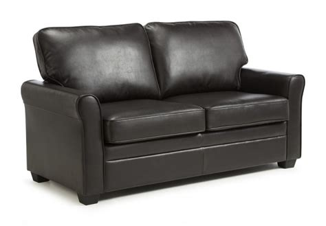 different of leather sofa serene naples brown faux leather sofa bed by serene