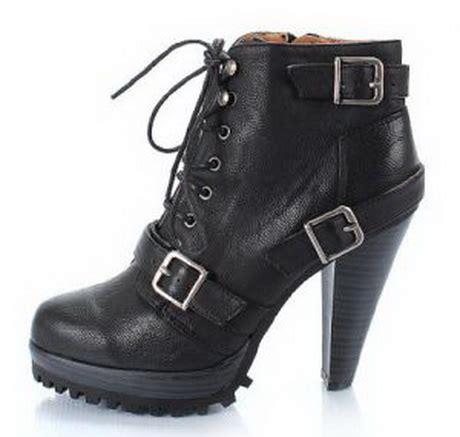 combat high heel boots high heel combat boots