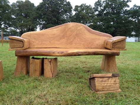 chainsaw carved bench 109 best images about wood carvings on pinterest