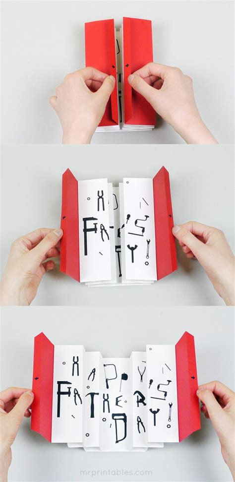 Paper Craft Tutorials Free - diy father s day cards the best free printable paper
