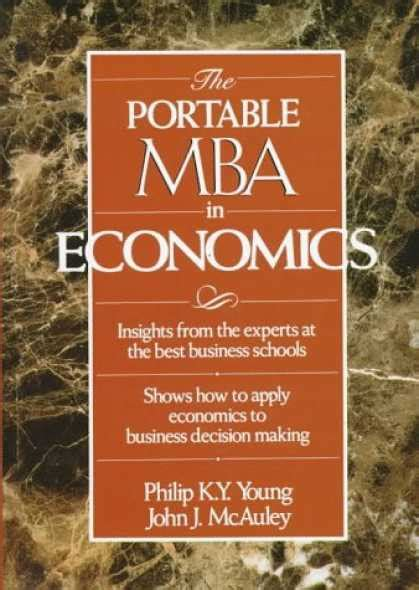 Portable Mba Book by Economics Book Covers 750 799