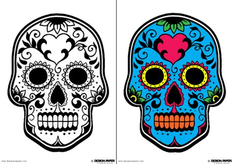 day of the dead mask template the gallery for gt dia de los muertos skull mask template