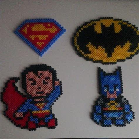 perler superman pin by guida varanda on diy