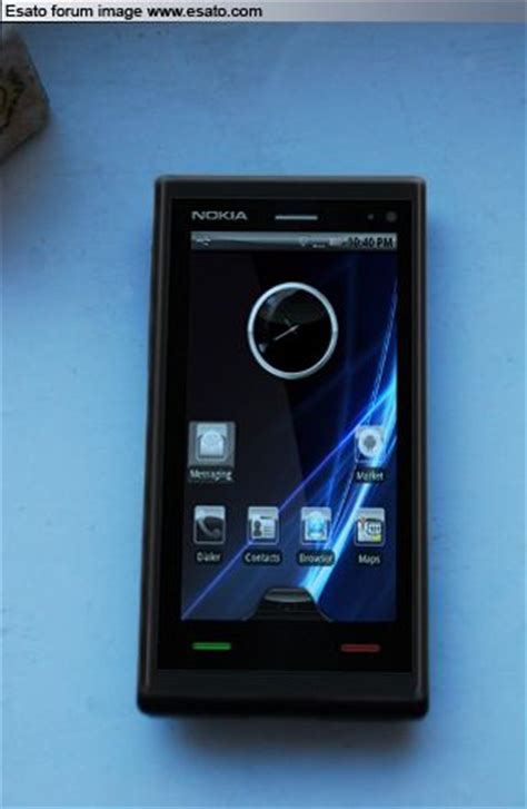 Hp Nokia X Android Second nokia android hp masa depan 2010