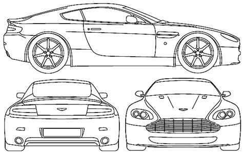 ??? Aston Martin V8 Vantage 2005 : ???????????schematize??