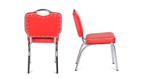 diner stuhl stuhl elvis in rot chrom retro 50er jahre american diner