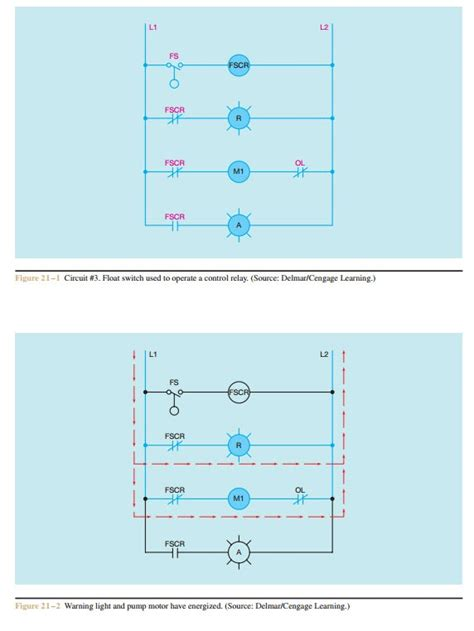 schematics and wiring diagrams float switch of a