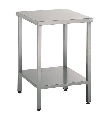 table support machine 60x60 cm en inox mjpro