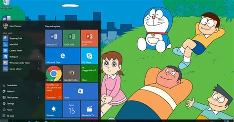 download themes doraemon 9800 doraemon theme for windows 7 8 8 1 and 10 save themes