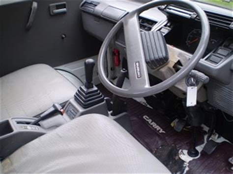 Suzuki Carry Interior 1991 Suzuki Carry 4x4 Dumptruck