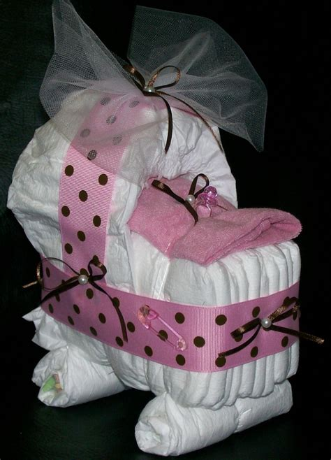 Pin baby shower ideas using diapers on pinterest