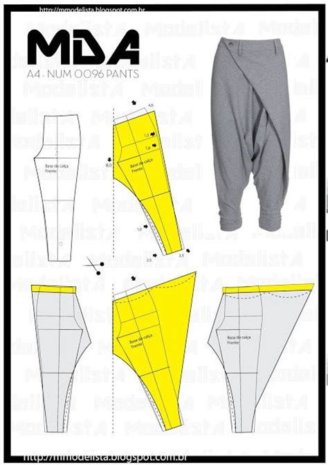 harem yoga pants sewing pattern 17 ideas about harem pants pattern on pinterest pants
