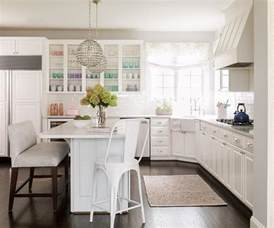 L Shaped Kitchen Island With Sink Kitchen With Corner Farmhouse Sink Transitional Kitchen