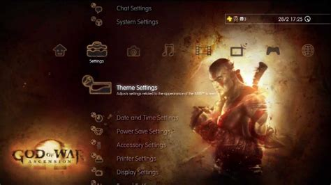 themes ps3 god of war 2 god of war ascension dynamic theme playstation 3 youtube