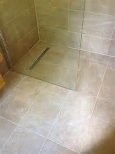 Bathroom Countertop Tile Ideas by Ensuite Wet Room Installation In Pembroke