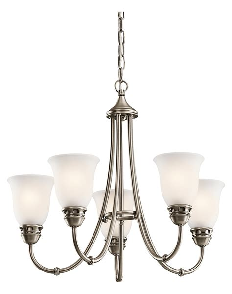 Antique Pewter Chandelier Kichler Kichler 42064ap Antique Pewter Durham 2 Tier Chandelier With 5 Lights Antique Pewter