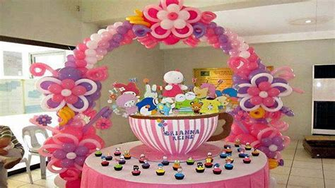 decoracion globos fiestas infantiles decoracion con globos para fiestas infantiles youtube