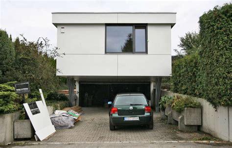 rötzer ziegel element haus garage dr hicker architekten friedberg bayern bungalow