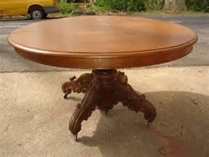 table 224 pied central en chene de la fin du xix si 232 cle