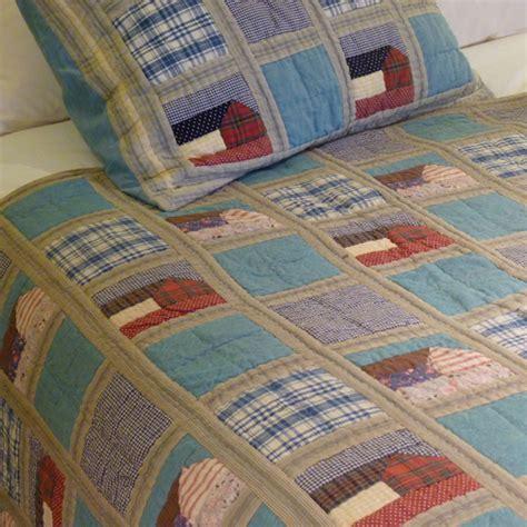 Denim Patchwork Quilt - denim hut patchwork