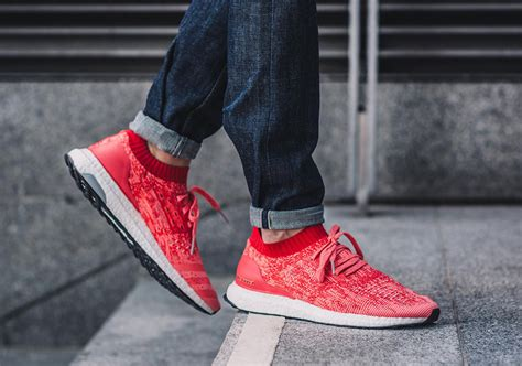 Sneakers Casual Adidas Ultraboost Uncaged Merah adidas ultra boost uncaged release info sneakernews