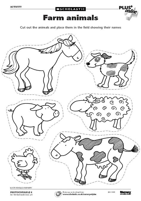 printable farm animal images free coloring pages of farmyard animals