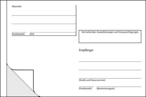 Adressaufkleber Drucken Deutsche Post by Tolle Postkarten Vorlage Bilder Beispielzusammenfassung