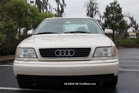 1996 audi a6 quattro base sedan 4 door 2 8l