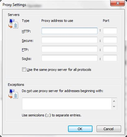 socks4 proxy proxy enable socks 4a 5 in internet explorer stack