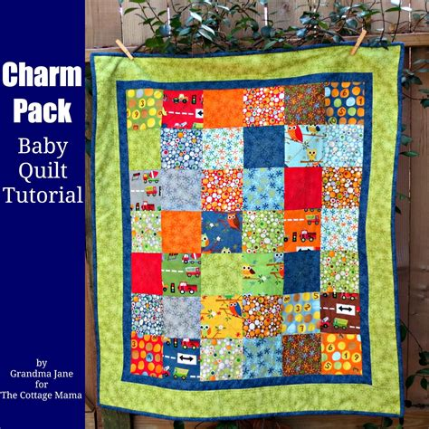 Charm Pack Quilt Patterns For Baby Quilts by Charm Pack Baby Quilt Tutorial Guess Whoooo You