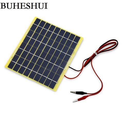 Solar Surya 12volt 5watt buheshui 5watt 5w 18v solar cell 5 watt for 12 volt garden pond battery charger diode