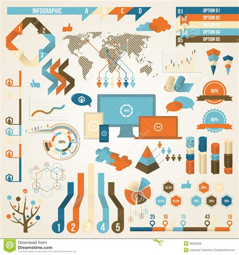 design visual communication pdf infographic elements and communication concept stock
