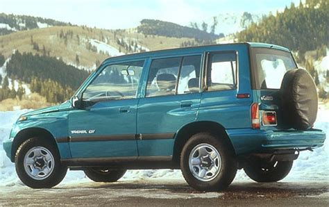 how cars work for dummies 1996 geo tracker seat position control used 1997 geo tracker for sale pricing features edmunds