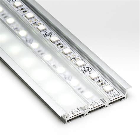 led strip light channel 3 channel flush mount profile housing for led strip lights
