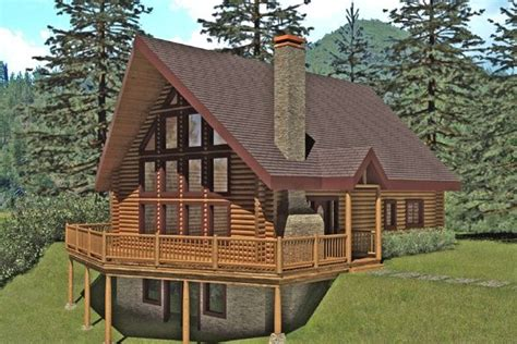 Log Cabin Floor Plans Under 1200 Sq Ft Cabins Houses 1200 Sq Ft Log Home Plans