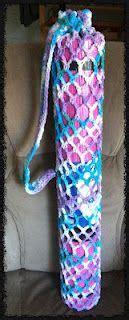 free crochet pattern yoga mat bag crochet yoga on pinterest yoga socks yoga mat bag and